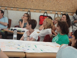 CLIL teachers enjoying presentations