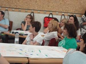 CLIL teachers enjoying presentations